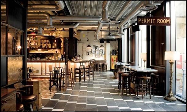 Inspirasi Baru Untuk Restoran Dengan Gaya Industrial Ala Masa Kini